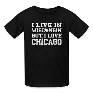 Live Wisconsin Love Chicago - Kids' T-Shirt
