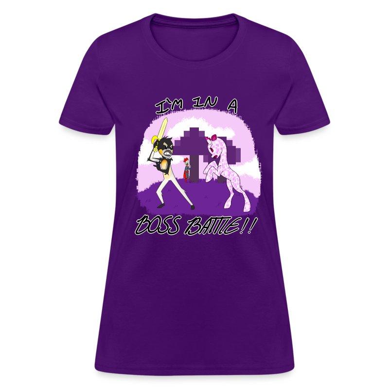 T SHIRT WARNING BIG.png - Women's T-Shirt