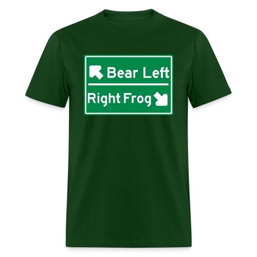 Bear Left - Men's T-Shirt