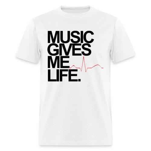 Music Life - Men's T-Shirt