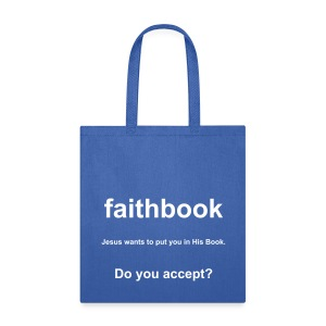 faithbook bag - Tote Bag