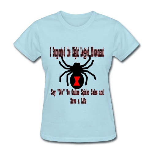 Support the Eight Legged Movement (Womens) - Women's T-Shirt