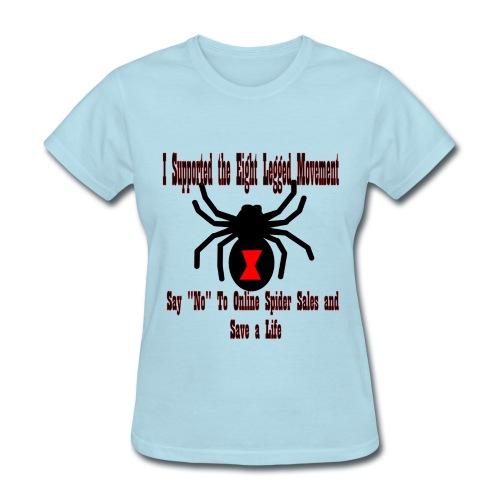 Support the Eight Legged Movement (Womens) - Women's T-Shirt