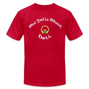 Bell Family Claddagh Tee for Men - Men's T-Shirt by American Apparel