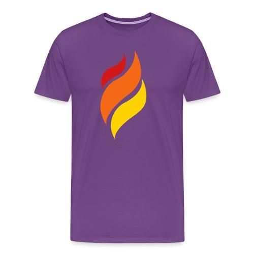 Flame - Men's Premium T-Shirt