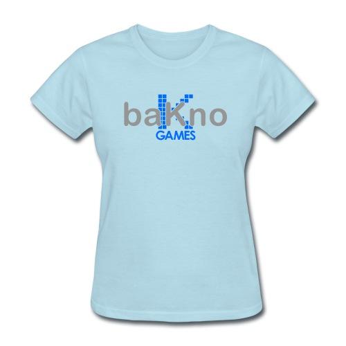 baKno color logo t-shirt for women - Women's T-Shirt