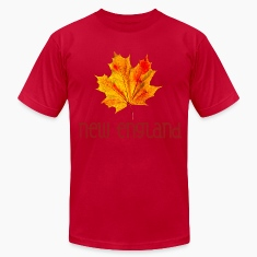Autumn New England Leaf T-Shirts