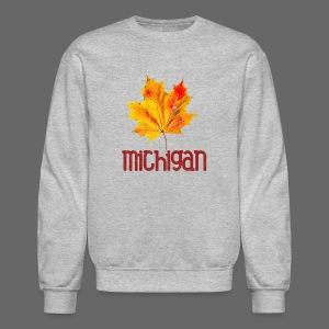 Autumn Michigan Leaf - Crewneck Sweatshirt