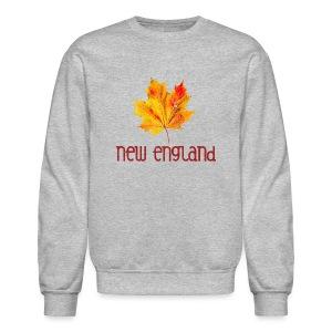 Autumn New England Leaf - Crewneck Sweatshirt