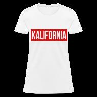 Women's T-Shirts ~ Women's T-Shirt ~ Kalifornia