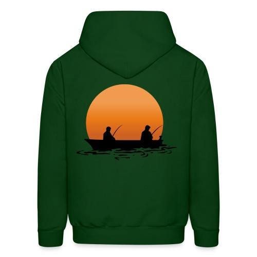 I'd rather be fishing sweatshirt - Men's Hoodie