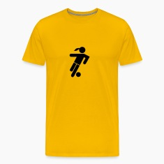 Soccer Player Girl Icon T-Shirts