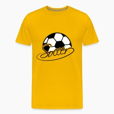 Soccer Ball Logo T-Shirts