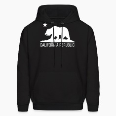 CALI Republic White Bear Hoodies