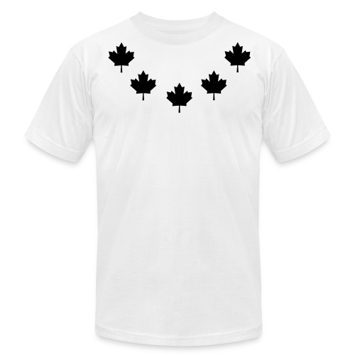Leaf Chain - Men's Fine Jersey T-Shirt