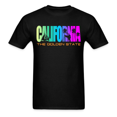 California Beach Golden State T-Shirts