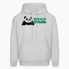 never_say_to_panda3 Hoodies