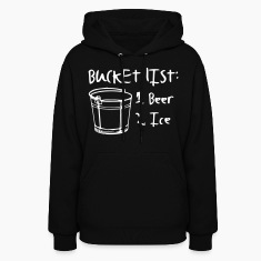 Mans Bucket List Hoodies