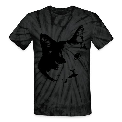 Tie-Dye Cat - Unisex Tie Dye T-Shirt