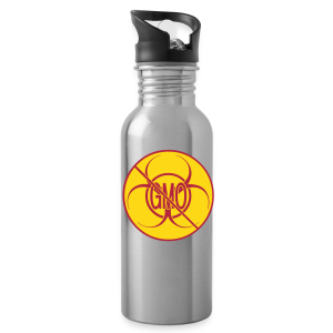 No GMO Watter Bottle Biohazard No GMO Bottles - Water Bottle