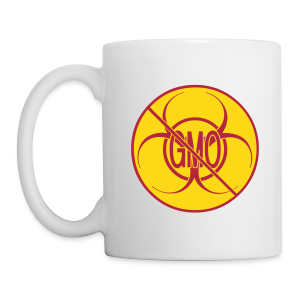 No GMO Cups Mugs Biohazard No GMO Cup - Coffee/Tea Mug