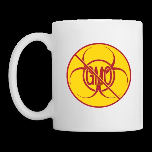No GMO Cups Mugs Biohazard No GMO Cup - Coffee/Tea Mug