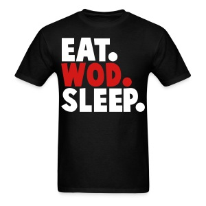 EAT WOD SLEEP - Men's T-Shirt