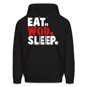 EAT WOD SLEEP - Men's Hoodie
