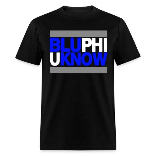 BLUPHIUKNOW black - Men's T-Shirt