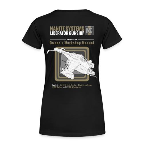 Liberator Owner's Manual W - Women's Premium T-Shirt
