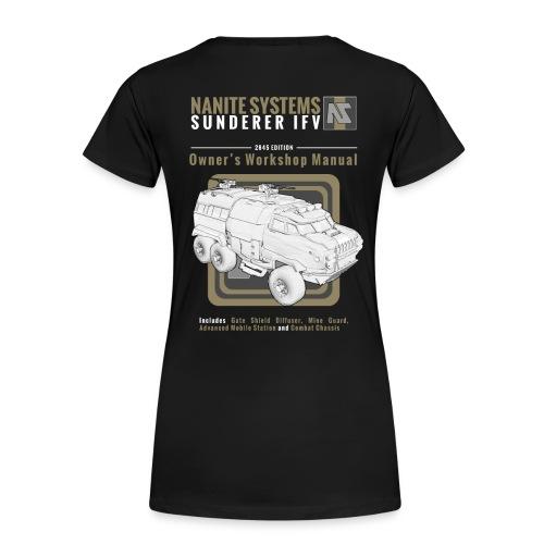 Sunderer Owner's Manual W - Women's Premium T-Shirt