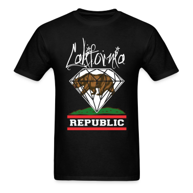 California Diamond Republic T-Shirts