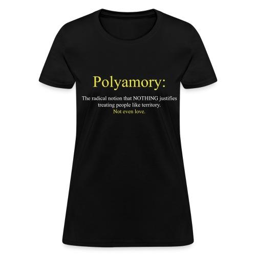 Not Even Love womens - Women's T-Shirt