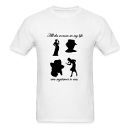 T-Shirts ~ Men's T-Shirt ~ Mystery Women Tee Mens Style #2
