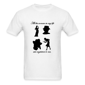 Mystery Women Tee Mens Style #2 - Men's T-Shirt