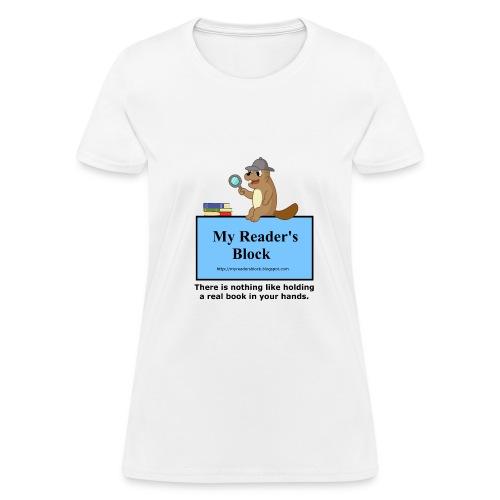 My Reader's Block Tee Womens - Women's T-Shirt