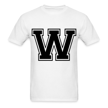 Letter W T-Shirts