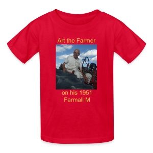 Art the Farmer - Kids' T-Shirt