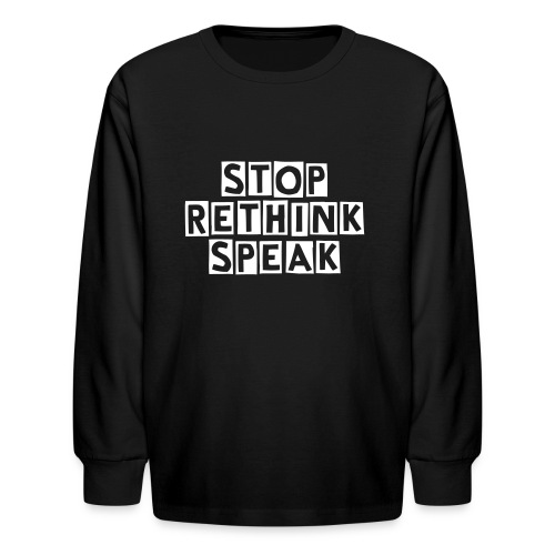 Classic 'Tiny SRS' (Children's line) - Kids' Long Sleeve T-Shirt