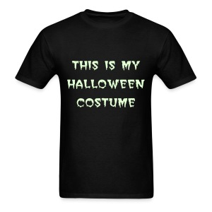 Glow in the Dark Halloween T-Shirt - Men's T-Shirt