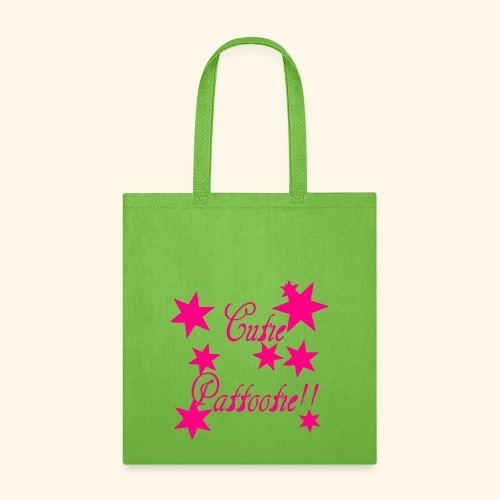 Cutie Pattootie - Tote Bag
