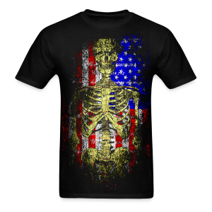 American Death T-Shirt - Men's T-Shirt