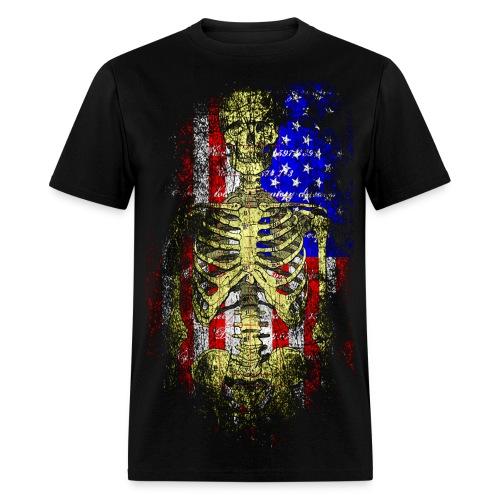 American Death T-Shirt - Men's T-Shirt