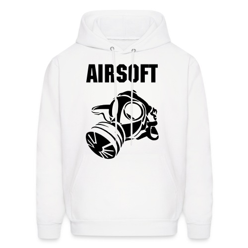 Airsoft Gas Mask Sweatshirt - Men's Hoodie