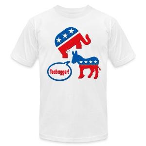 TEABAG A LIBERAL - Men's Fine Jersey T-Shirt