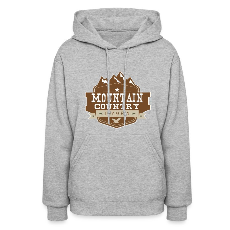 Mountain Country 107.9 Woman's Hoodie - Women's Hoodie