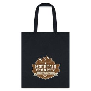 Mountain Country 107.9 Tote Bag - Tote Bag