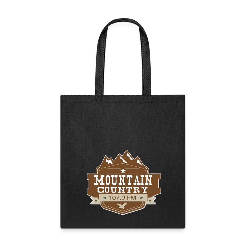 Mountain Country 107.9 Tote Bag - Tote Bag
