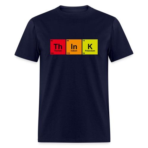think - Men's T-Shirt