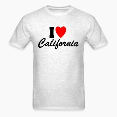 I Heart California T-Shirts